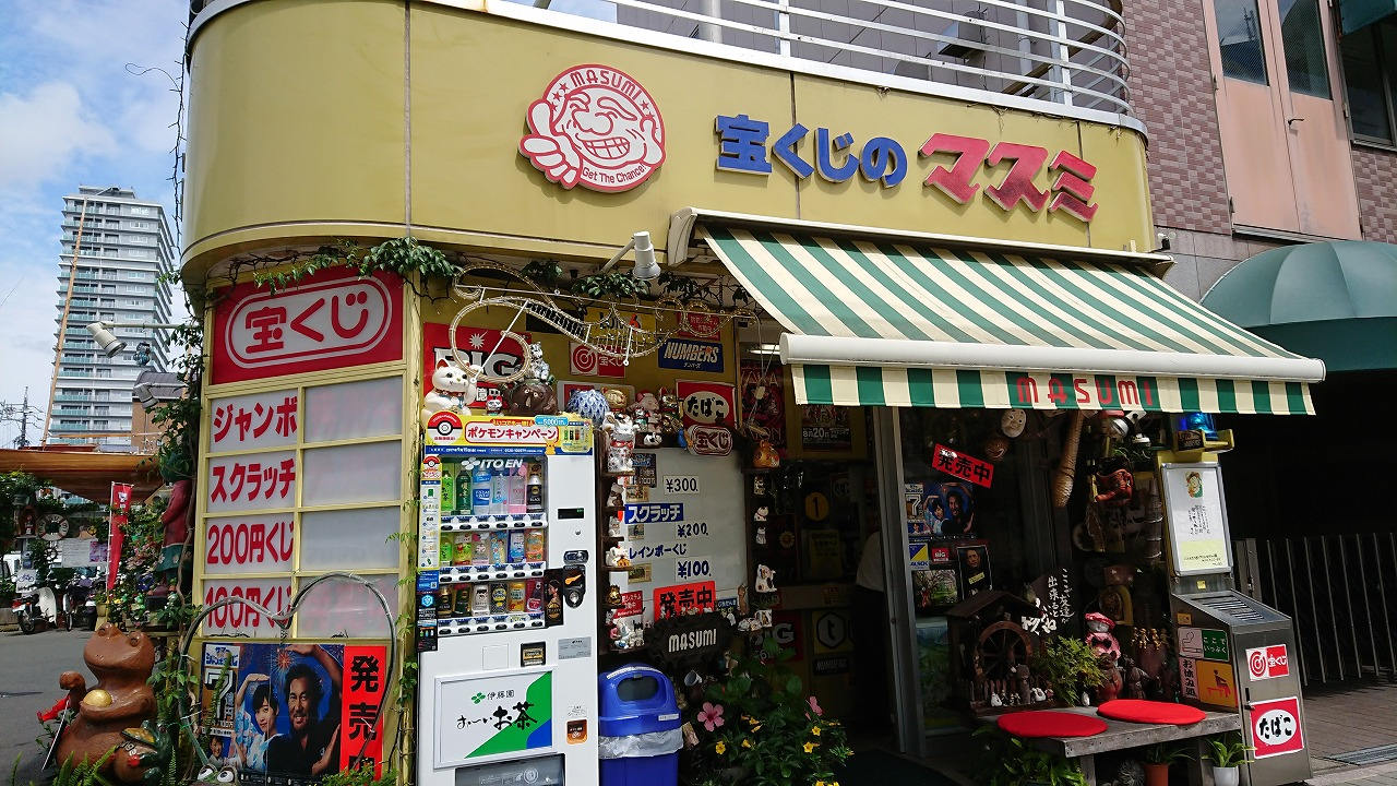宝くじを買いに浜松で有名な『宝くじのマスミさん』へ行ってきた