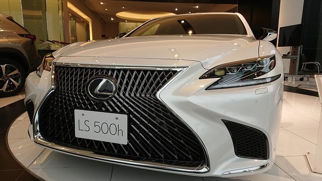 【レクサス和田】今年3回目の訪問、新型LS500hをじっくりと眺めてきた