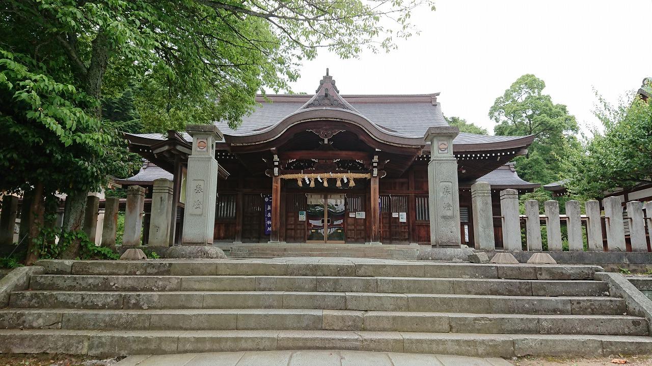 足羽山にある藤島神社と足羽神社へ行ってきた